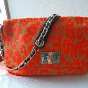 Juicy Couture Bright Orange Shoulder Bag